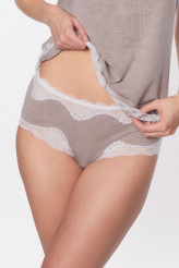 Antigel Simply Perfect Loungewear Shorty, Spitzenkante