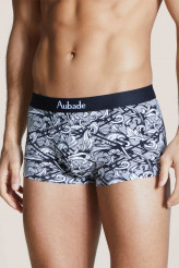 Aubade Aubade Men Trunk White Ornament - Baptiste Giabiconi