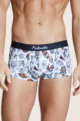 Aubade Aubade Men Trunk White Art