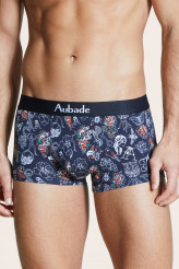 Aubade Aubade Men Trunk Black Art