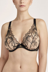 Aubade Fleur de Tattoo Komfort High Apex Triangel-BH