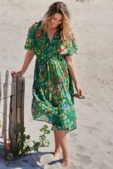 Pip Studio Beachwear 2021 Dushi Exotic Garden Dress