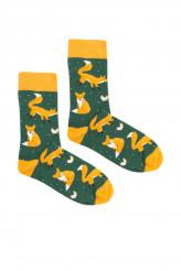 BuntimoSockenKabak Socken Fuchs