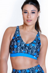 Calao Fitness Fashion Top Svenja - dots