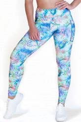 CalaoFitness FashionLeggings high waist - flory