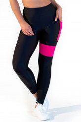 Calao Fitness Neon Leggings high waist - neon pink
