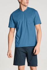 CalidaRelax ImprintPyjama kurz parisian blue