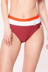 LideaContrastHigh-Waist Bikini-Slip