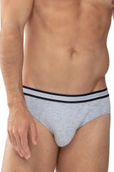 Mey HerrenwäscheSerie Re:ThinkJazz-Pants light grey melange