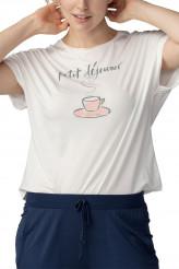 Mey DamenwäscheNight 2 DayShirt Lilly petit déjeuner
