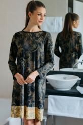HutschreutherOne 2021Nachthemd kurz Ornament-Print