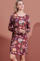 ESSENZALoungewear 2021-2Elm Scarlett Nightdress Long Sleeve