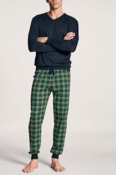 CalidaRelaxPyjama mit Bündchen Casual Comfy