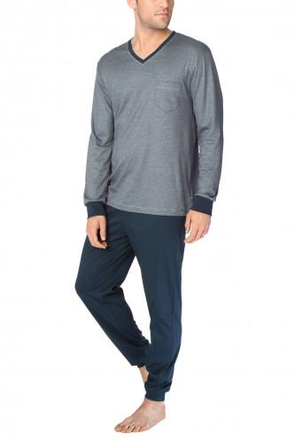 Abbildung zu Pyjama lang mit Bündchen (48565) der Marke Calida aus der Serie Comfy Zone