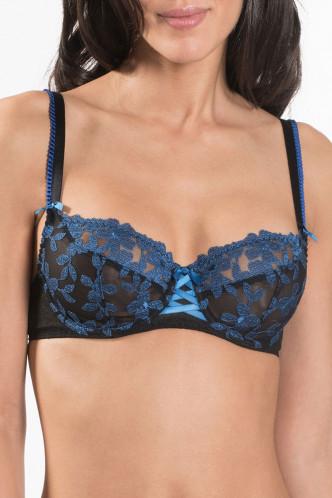 Abbildung zu Halbschalen-BH, Horizontalnaht (MJ15) der Marke Aubade aus der Serie Femme Charmeuse