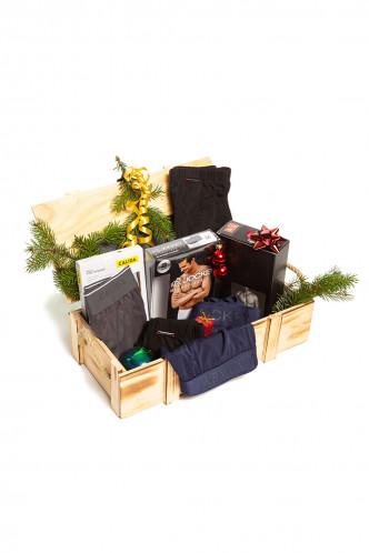 Abbildung zu Geschenkbox Herren, gefüllt (GB-002) der Marke CarlMarie aus der Serie Geschenkboxen