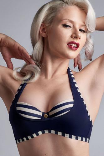 Abbildung zu Plunge Balconette B-C Bikini-Oberteil (19610) der Marke Marlies Dekkers aus der Serie Marinière