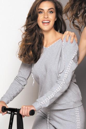 Abbildung zu Sweatshirt mit Kapuze (ELG5349) der Marke Antigel aus der Serie Tag Antigel