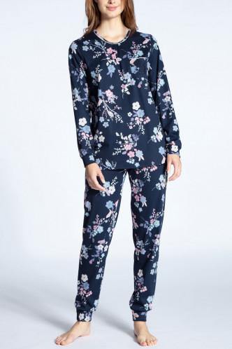 Abbildung zu Pyjama lang mit Bündchen (41133) der Marke Calida aus der Serie Cosy Cotton Nights
