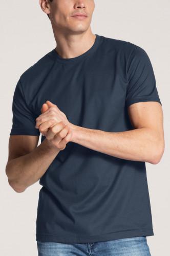 Abbildung zu Baumwoll-T-Shirt, 2er-Pack (14341) der Marke Calida aus der Serie Natural Benefit