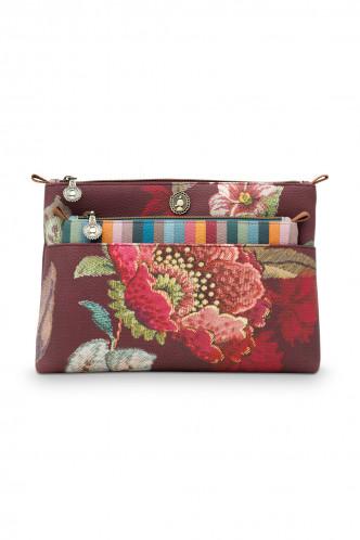 Abbildung zu Poppy Stitch Cosmetic Bag Combi (51274129) der Marke Pip Studio aus der Serie Accessoires