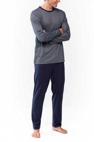 Abbildung zu Pyjama lang Bennison (24380) der Marke Mey Herrenwäsche aus der Serie Night Basic