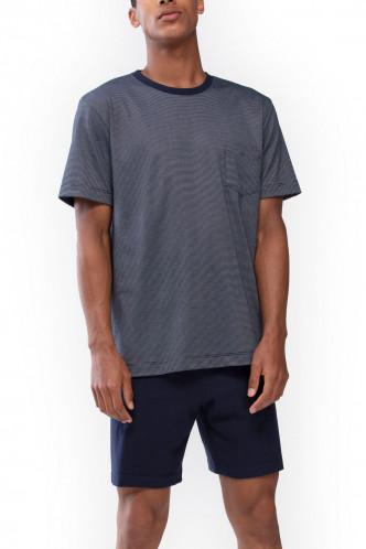Abbildung zu Pyjama kurz Bennison (24370) der Marke Mey Herrenwäsche aus der Serie Night Basic