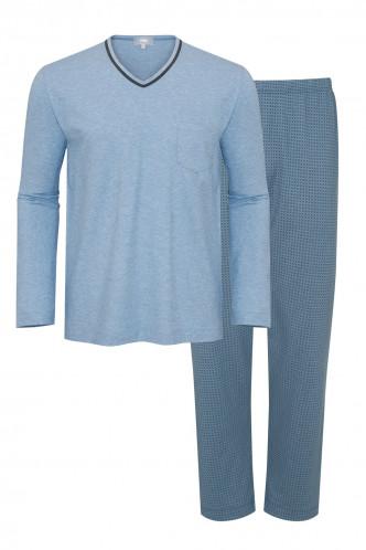 Abbildung zu Pyjama lang Aberdeen (73381) der Marke Mey Herrenwäsche aus der Serie Night Fashion