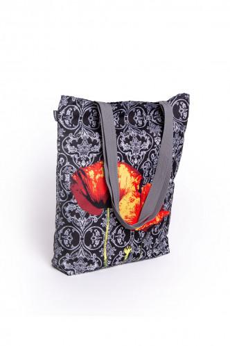 Abbildung zu Shopper Sunny - Poppies (SU61) der Marke Buntimo aus der Serie Designertaschen