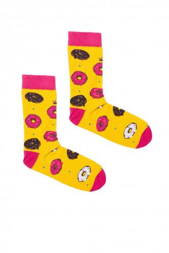 Abbildung zu Kabak Socken Donut Gelb (SK53) der Marke Buntimo aus der Serie Socken