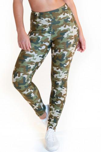 Abbildung zu Leggings high waist - camouflage (FN1273) der Marke Calao aus der Serie Fitness Fashion