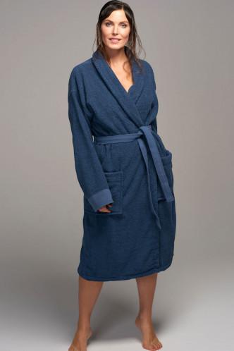Abbildung zu Connect Organic Bathrobe (401064-300) der Marke ESSENZA aus der Serie Kimono & Mäntel