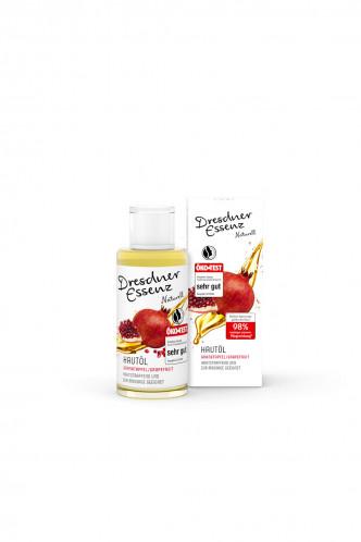 Abbildung zu Hautöl Granatapfel/Grapefruit (12378-0100) der Marke Dresdner Essenz aus der Serie Verwöhnzeit