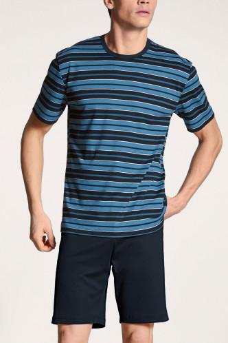 Abbildung zu Pyjama kurz dark sapphire (42667) der Marke Calida aus der Serie Relax Streamline