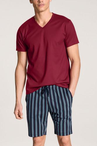 Abbildung zu Pyjama kurz Casual Cotton (46560) der Marke Calida aus der Serie Relax