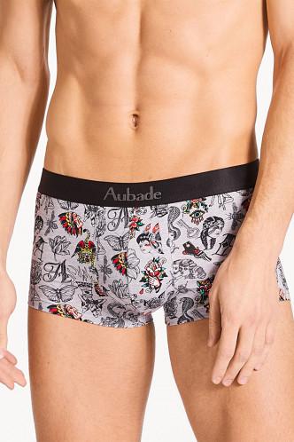 Abbildung zu Trunk Grey Art (XB79T) der Marke Aubade aus der Serie Aubade Men