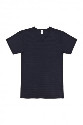 Abbildung zu V-Shirt (700257) der Marke Ammann aus der Serie Cotton & More