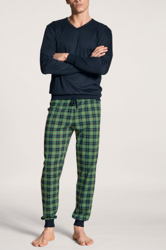 Abbildung zu Pyjama mit Bündchen Casual Comfy (41969) der Marke Calida aus der Serie Relax