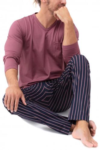 Abbildung zu Pyjama lang Onkamo (34015) der Marke Mey Herrenwäsche aus der Serie Night Fashion