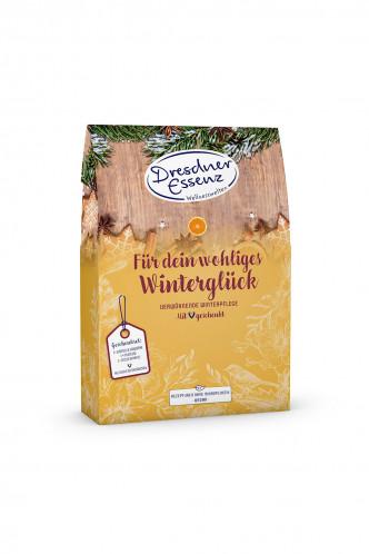 Abbildung zu Geschenkset Für dein wohliges Winterglück (13673-0000) der Marke Dresdner Essenz aus der Serie Verwöhnzeit