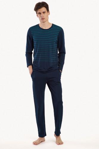 Abbildung zu Pyjama lang (35020) der Marke Lisca Men aus der Serie Hypnos