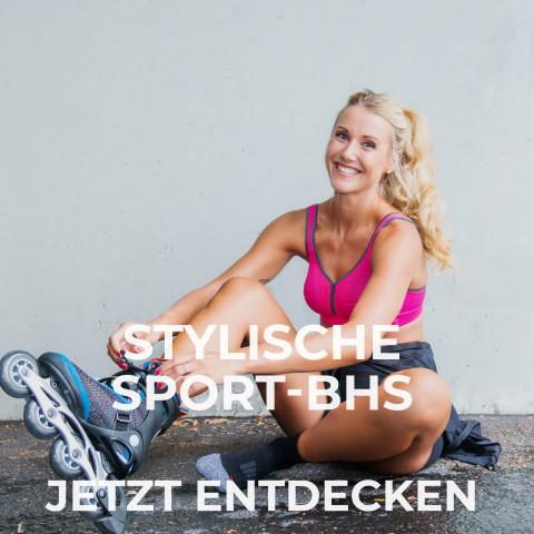 Stylische Sport-BHs