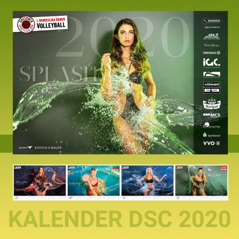 DSC Volleyball Kalender Splash