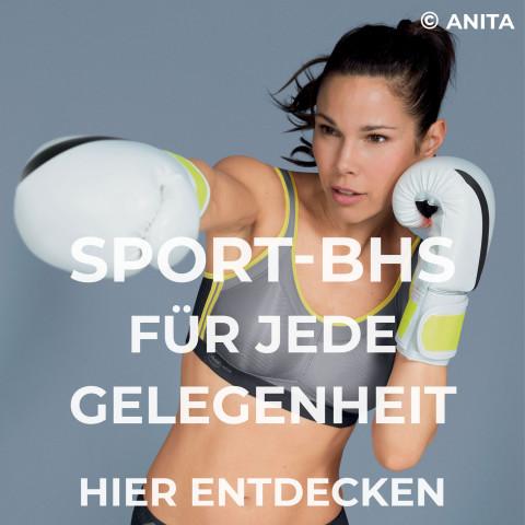 Sport-BHs für jede Gelegenheit