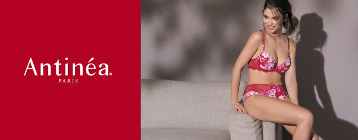72ef9be47e Luxuriöse und exklusive Dessous, elegante Wäsche. Fleur de Braise von  Antinea
