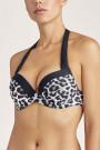 AubadePeau SauvagePush-Up-Bikini-Oberteil, Schalenform
