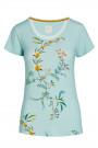 Pip StudioLoungewear 2021Tilly Grand Fleur Top Short Sleeve