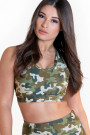 Calao Fitness Fashion Top Jolly - camouflage