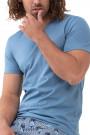 Mey HerrenwäscheSerie Re:Think ColourT-Shirt medium blue