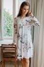 HutschreutherFashion 2021Nachthemd kurz Blumenprint